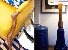 Boerum Hill Brownstone || Blue & Yellow Details || Chango & Co.