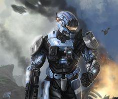 Halo Reach: Carter by thomaswievegg.deviantart.com on @deviantART