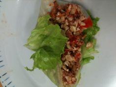 "Raw ""non tuna, tuna salad"" whipped up in the thermomix. Tuna Salad, Uber, Yum Yum, Salads, Veggies, Healthy, Ethnic Recipes, Food, Thermomix"