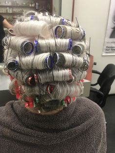 Wet Set, Roller Set, Pin Curls, Intelligent Design, Curlers, Vintage Glamour, Hair Beauty, Hair Styles, Pretty