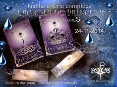 Balaio de Livros: Sorteio da Série Lágrima de Princesa: