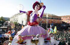 Carnaval de Nice © CRT Riviera Côte d'Azur - Photographe : Anaïs BROCHIERO