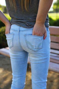 Hollister Jeans :: http://www.madisonmartine.com/hollister-jeans/