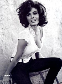 """Sex appeal is fifty percent what you've got and fifty percent what people think you've got."" - Sophia Loren"