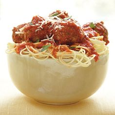Spaghetti and Meatballs | CookingLight.com