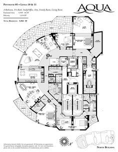 Luxury Floor Plans | Naples Luxury Residences | Penthouse - Condos | New Construction
