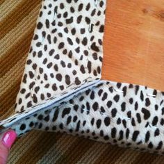 Little Green Notebook: How to Upholster Bench Corners or any other furniture upholstery job