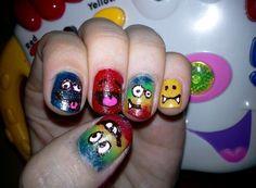 happy nails - Nail Art Gallery nailartgallery.nailsmag.com by nailsmag.com #nailart