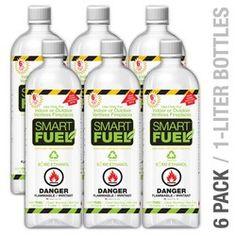 Liquid Bio-Ethanol Fuel for Fireplaces