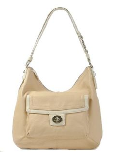 Coach Two-Tone Leather Penelope Convertible Hobo « Clothing Impulse Gucci  Purses ca7fd43ce8001