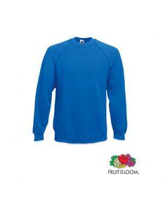 14 3567 - Sudadera Raglan Fruit Of The Loom, Sweatshirts, Sweaters, Fashion, Corporate Gifts, Personalized Gifts, Hooded Sweatshirts, Cowls, Moda