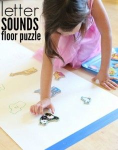 Giant Letter Sounds Puzzle-pinned by @PediaStaff – Please Visit  ht.ly/63sNt for all our pediatric therapy pins