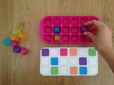 Preschool and toddler crafts,projects and activities - Part 127 Preschool Learning Activities, Educational Activities, Kids Learning, Autism Education, Reggio Emilia, Early Childhood, Voici, Task Boxes, Toddler Crafts