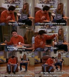 Friends - Rachel & Joey
