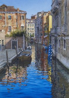 James Toogood. He inspired me to start my painting of my trip to Venice.
