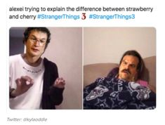 Literally Just 65 Hilarious Memes About Stranger Things Season 3 - - We have to laugh so we don't cry. Warning: contains spoilers. Stranger Things Have Happened, Stranger Danger, Stranger Things Season 3, Stranger Things Funny, Stranger Things Netflix, Funny Things, Printable Poster, Marvel Dc, Saints Memes