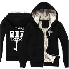 Warm I am Sherlock hoodie for men thick fleece sweatshirt winter wear