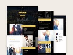 Evently is the perfect #template if you want to create an #event or #meeting #website. It has a really nice layout which makes it unique. Evently even has a blog page which you can use to give more details about the event.