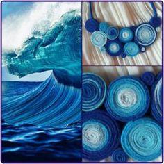 colier handmade albastru I Am Store, Quilling, Crafts, Diy Kid Jewelry, Bedspreads, Manualidades, Handmade Crafts, Craft, Quilting