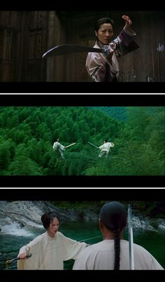Crouching Tiger, Hidden Dragon directed by Ang Lee in 2000