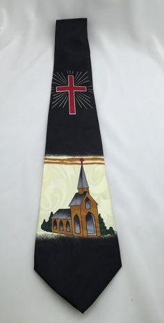 Renaissance Church Neck Tie Cross House of Worship Religious New Free SHIP | eBay