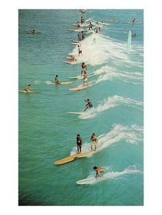 Vintage Surfers.