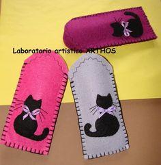 Risultati immagini per borse feltro con gatti