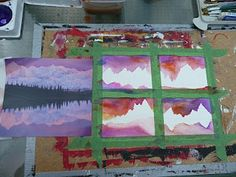 """Part of teaching art is dealing with concepts that can be """"boring"""" for kids.  By this I mean all the guidelines for composition, color theory, tonal value, etc........So I'm always trying to find projects to teach them basic concepts but are a bit more fun.  When you deal with composition you are trying to instill that """"artist's eye"""", that sense of proportion that captures attention."""