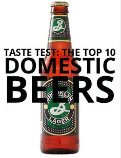 A Game Day get together isn't complete without beer! Find out which beers were the top 10 in our Taste Test!