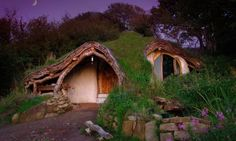 or burried in the earth 10 Design Ideas for Woody  Houses