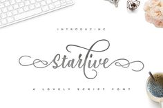Starlive Script is a beautiful and interesting calligraphy handwriting font. You can see from scratches that give a realistic and modern style. font looks sweet Calligraphy Handwriting, Cursive Fonts, All Fonts, Caligraphy, Pretty Fonts, Beautiful Fonts, Design Typography, Brand Fonts, Character Map