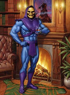 Skeletor's Lair by Jason Edmiston