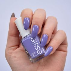 essie Spring 2016 Collection - Shades On. Vibrant purple nails.