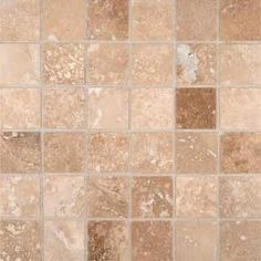 Buy Tuscany Ivory Honed Travertine Mosaic Tiles - THDW1-SH-IVO2X2 at marble n things 2 in. x 2 in., Bathroom Walls, Kitchen Backsplash, Shower Walls, Living Room Floor from mosaictiledirect.net Online Store.