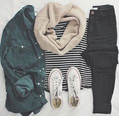 Cute Casual Winter Fashion Outfits For Teen Girl – Tumblr Outfits, Mode Outfits, Fall Outfits For School, Church Outfits, Girl Outfits, Look Fashion, Teen Fashion, Womens Fashion, Fall Fashion