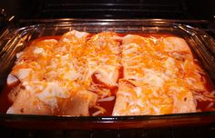 Easy Chicken Enchila