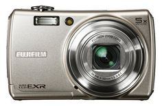 Fujifilm FinePix F200EXR Kit 12MP Super CCD Digital Camera with 5x Wide Angle Dual Image Stabilized Optical Zoom Silver  WSPiCon Case >>> Find out more at the image link. #DigitalCameras