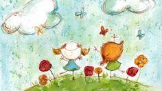 Relax Music for Children ♫ Meditation Calming Music, Relaxing Music, Music For Kids, Yoga For Kids, Children Music, Children Drawing, Children Painting, Kids Songs, Royality Free Music