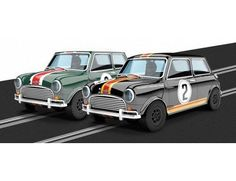 The Scalextric Touring Car Legends 1964 ATCC Mini Coopers Limited Edition is a 1/32 scale slot car and is part of the Scalextric Limited Editions range.