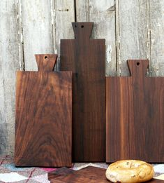 Walnut Serving Board  Bread Board  Cutting by CattailsWoodwork, $45.00