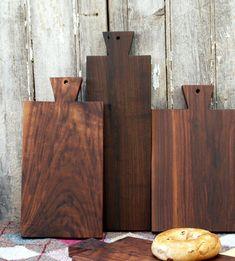 Walnut Serving Board - Bread Board - Cutting Board - eco friendly Kitchen Gift on Etsy, $44.37