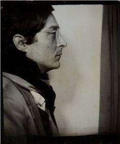 William Eggleston      Self-portrait in a Photo Booth      c.1975