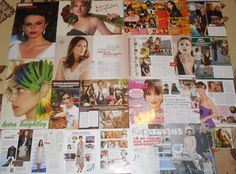 Keira Knightley - Magazine Posters & Clippings BIG Collection
