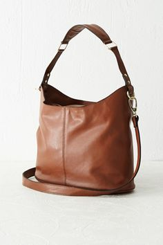 All Accessories | Brown Leather Shoulder Bag | Warehouse