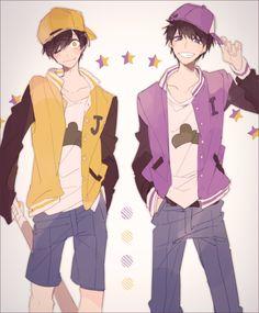 Find images and videos about anime, osomatsu-san and ichimatsu on We Heart It - the app to get lost in what you love. Kawaii Anime, Me Anime, Hot Anime Boy, Chica Anime Manga, Anime Art, Anime Style, Osomatsu San Doujinshi, Ichimatsu, Otaku