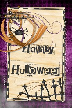 Halloween Card by sarahwhithers