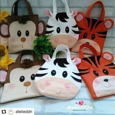 Felt Crafts Diy, Baby Crafts, Easter Crafts, Lol Doll Cake, Nursery Bag, Animal Bag, Diy Bags Purses, Lol Dolls, Beaded Bags