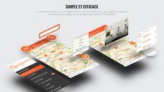 Geoimmo - application digitale de recherche immobilière innovante - geolocalisation