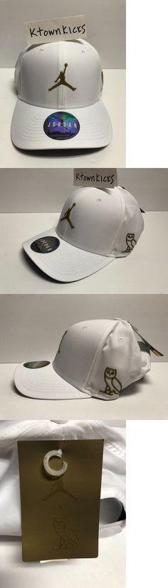 a0fb6632819 ... sale hats 163543 nike jordan x drake ovo adjustable hat white gold  826744 100 9a905 3975c
