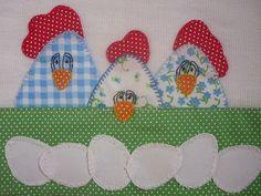 Gallinas patchwork